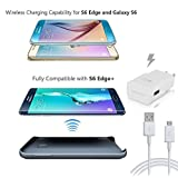 Original Samsung Galaxy Wireless Charging Battery Case for S6 Edge Plus & Wireless Plate For S6/S6Edge + AFC Fast Charger & Stylus