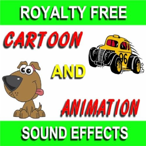 cartoon and animation sound effect 8 by sound effect kings on amazon