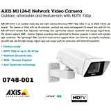 Axis Communications M1124-E Network Camera - Color 0748-001 by Axis