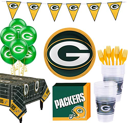 Green Bay Packers Birthday - Party City Green Bay Packers Super