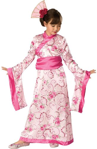 Rubies Asian Princess Costume,Pink,Small -