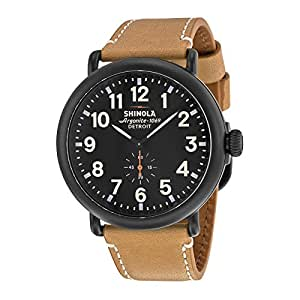 Shinola The Runwell 10000011 Black PVD Stainless Steel Quartz Men's Watch