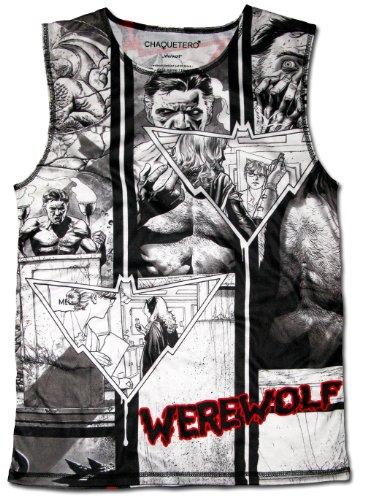 Chaquetero Werewolf Original Sleeveless Muscle Shirt Full Moon Amazing Tank Top 2XL