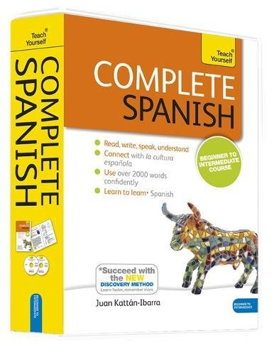 Complete Spanish Beginner Intermediate Course product image