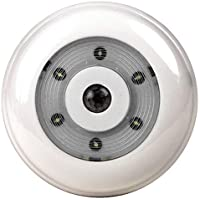 Dorcy Battery-Operated LED Wireless Motion Sensor Light, White (41-1069)