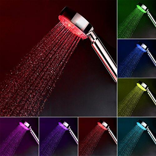 7 color led shower head - 9