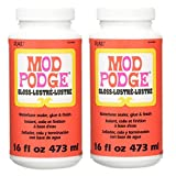 Bulk Buy: Plaid Mod Podge Gloss Lustre 16 Ounce CS11202 (2-Pack)