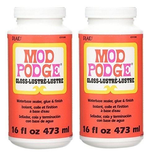 Bulk Buy: Plaid Mod Podge Gloss Lustre 16 Ounce CS11202 (2-Pack) by Mod Podge