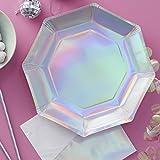 Ginger Ray Iridescent Rainbow Unicorn Holographic