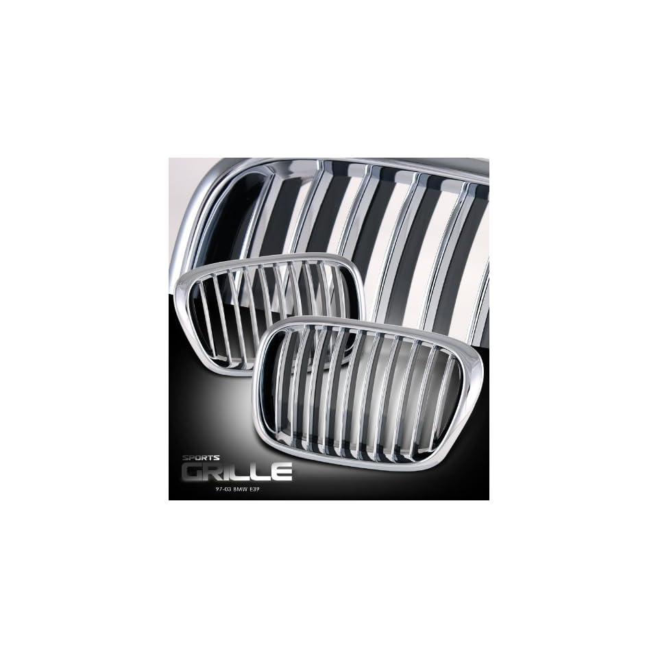 2003 5 Series   E39 Chrome/ Black Sport Grille Performance Automotive