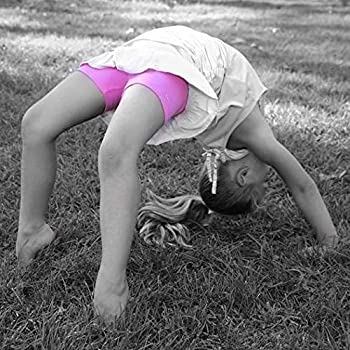 Playground Cartwheels Sparkle Farms Little Girls Under Skirt and Dress Modesty Shorts for Dance 3-Pack Bikes
