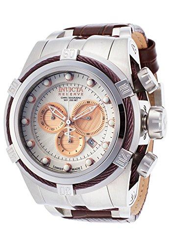 Invicta Men's 14611 Bolt Analog Display Swiss Quartz Brown Watch