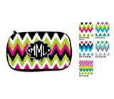 Personalized Cosmetic Bag Monogram Pencil Case, Make-Up, Travel Case Bridesmaid Toiletries Pouch