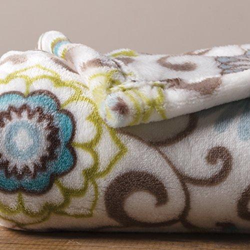 Trend Lab Plush Baby Blanket, Multi Waverly Pom Pom Spa by Trend Lab (Image #4)