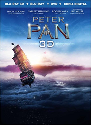 Peter Pan Combo Pack - Blu-ray 3D + Blu-Ray + DVD + Copia Digital