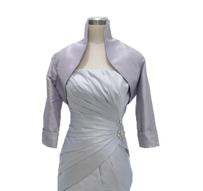 Dresstells Damen Kleider Taft Bolero Für Abendkleider Brautjungfernkleider