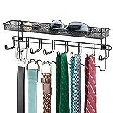 Best Tie Racks - mDesign Closet Wall Mount Men's Accessory Storage Organizer Review