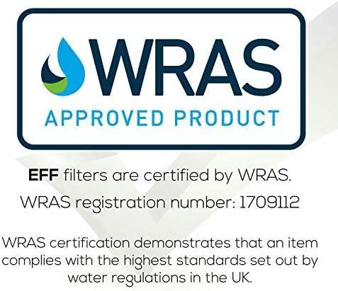EcoAqua EFF-6029A Filtro de refrigerador de hielo y agua para ...