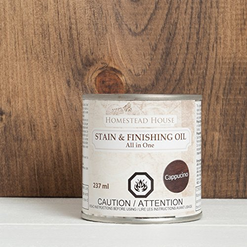 - Stain and Finishing Oil All in one Cappucino 237 ml