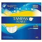 Tampax Pearl Regular Applicator Tampons (40)