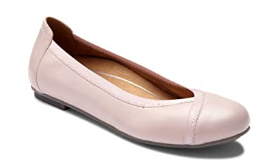73ee7a1ea3c0 Vionic Women s Spark Caroll Ballet Flat - Ladies Dress Casual Shoes with  Concealed Orthotic Arch Support