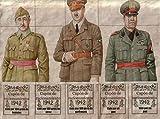 FULL UNCUT SHEET OF SPANISH CIVIL WAR RA