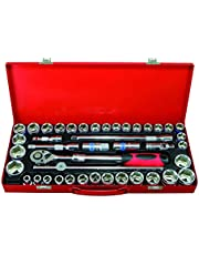 Ultimate Tools Dr.Socket Tool Set With Extendable Ratchet Handle - 41 Pieces
