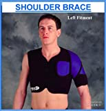 Proline Single Shoulder Brace - Black - Large/X.Large-Right Hand