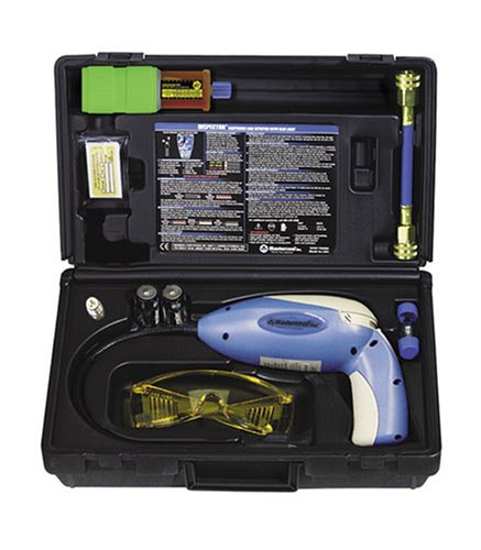 Mastercool (55500-UV) Blue/Gray Heated Diode Electronic Leak Detector with UV Light