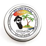 REAL BEARDED MEN 100% Natural Premium Beard Balm 2 oz – TROPICAL – Made in USA For Sale