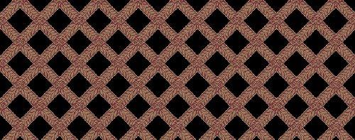 Kane Carpet - Garden Trellis Collection - Black Rose - Oval 10'X14'