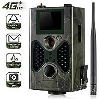 SUNTEKCAM 4G Cámara de Caza Vigilancia 16MP 1080P