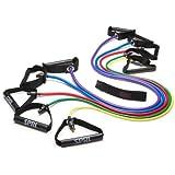 SPRI Xertube Resistance Band Exercise Cord with Door Attachment