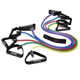 SPRI Xertube Resistance Band Exercise Cord with Door Attachment