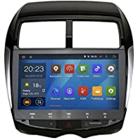 SYGAV Android 5.1.1 Lollipop Quad Core 10.1 Inch In-dash Car Stereo Video Player 2 Din 1024x600 Sat GPS Navi for Mitsubishi ASX Peugeot 4008 Citroen C4 with Wifi Bluetooth Radio