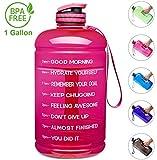Best Gallon Water Bottles - Venture Pal Large 1 Gallon/128 OZ & 74 Review