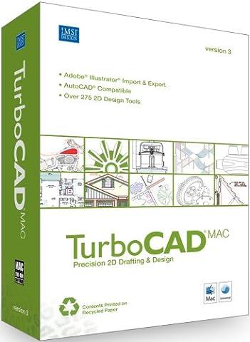 Turbocad Mac V3 2D Cad for Mac [Old Version] (Cad Program Software)