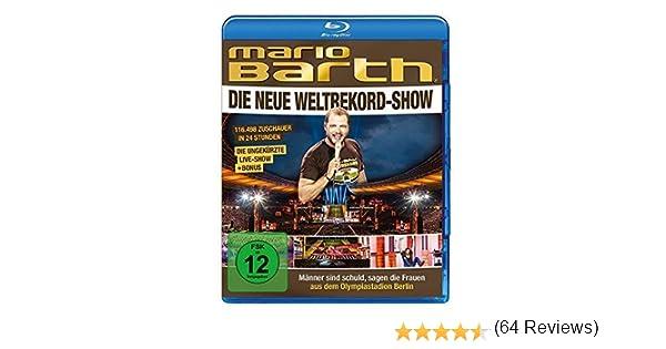 Mario Barth - Weltrekord-Show: Männer sind schuld, sagen die Frauen Alemania Blu-ray: Amazon.es: Barth, Mario, Barth, Mario: Cine y Series TV