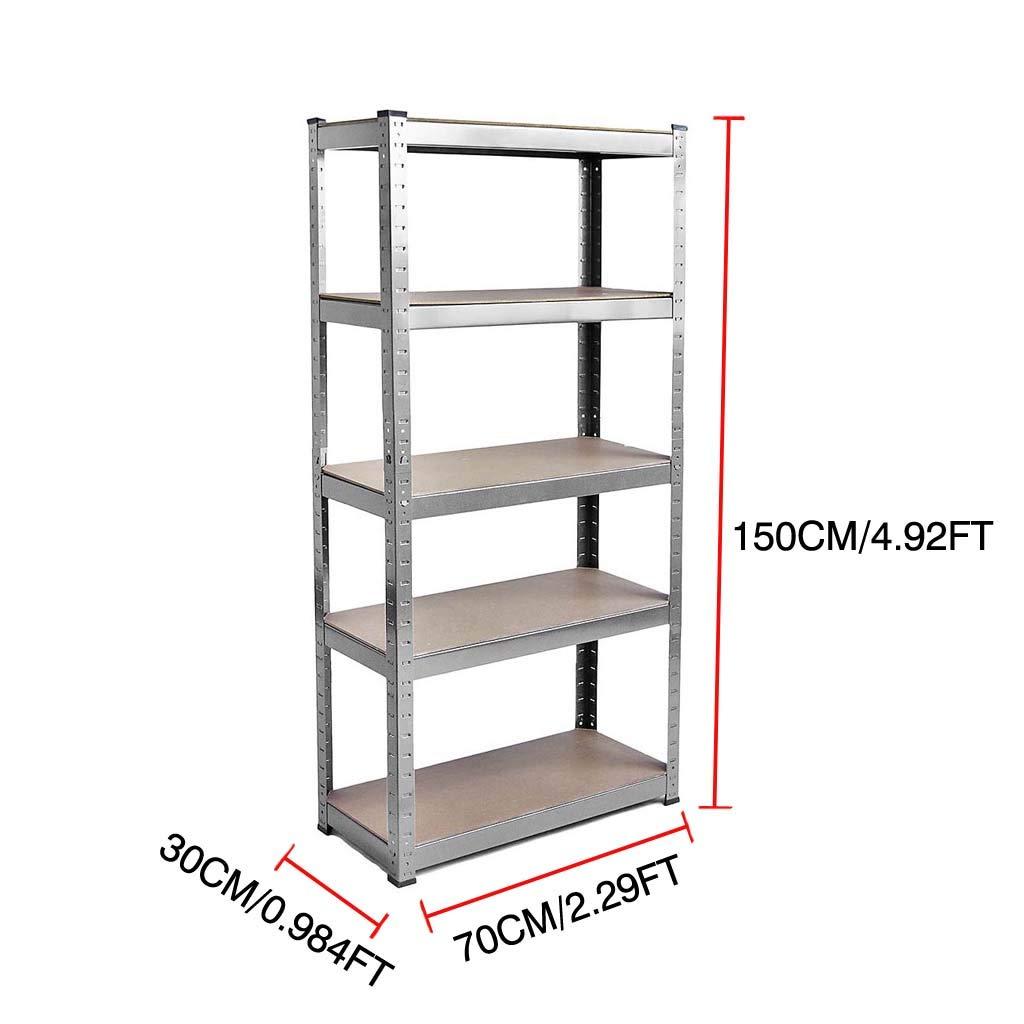 Heavy duty boltless metal shelving shelves storage for Home Garage Warehouse DIY