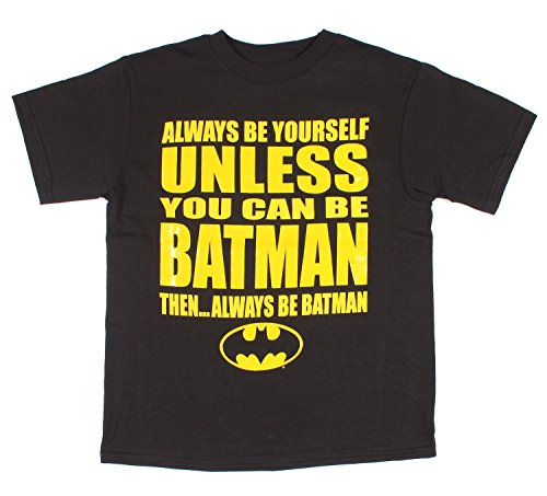 DC Comics Always Be Yourself Unless You Can Be Batman Graphic T-Shirt