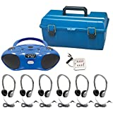 Hamilton Buhl 6 Person Bluetooth/CD/FM Listening Center with Personal Headphones