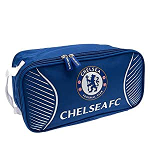 Chelsea F.C. Boot Bolsa, Infantil, Azul, Talla única: Amazon ...