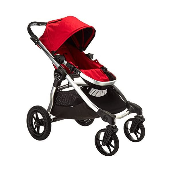 Baby Jogger City Select Stroller – 2016 | Baby Stroller with 16 Ways to Ride, Goes from Single to Double Stroller…