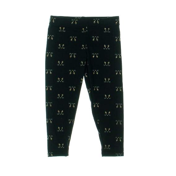 d2d93b2daa6bd Capelli New York Cat Girls Graphic Leggings Black 4 5  Amazon.ca  Clothing    Accessories