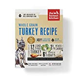 The Honest Kitchen Alimento deshidratado para perros de grano orgánico de grado humano, Cage FREE Turkey, 10 lb (makes 40 lbs)