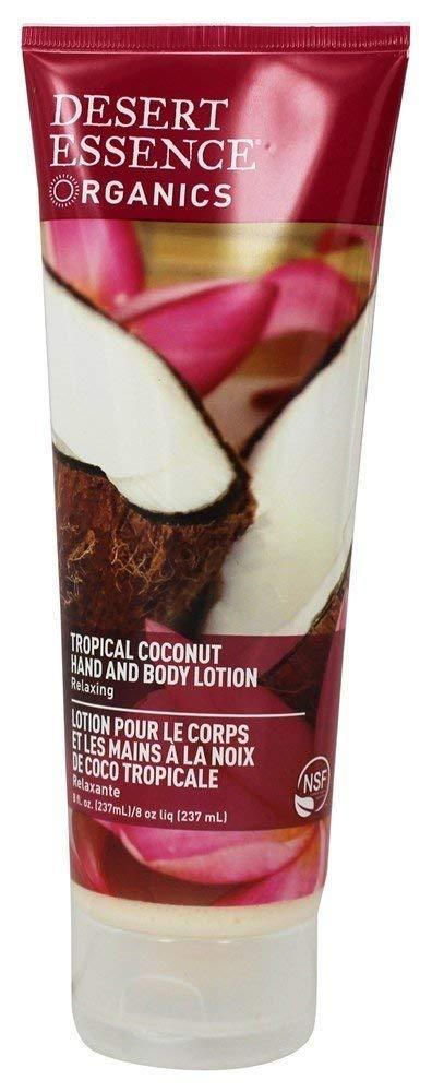 Desert Essence Coconut Hand and Body Lotion 8fl oz