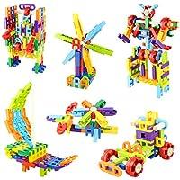 Meigo Toddlers 118-Pieces Educational Construction Engineering Building Blocks Set