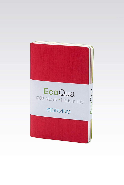 YUHUS Home A6 Warm Colours Notebook, 4er Set, 9 x 14 Zentimeter