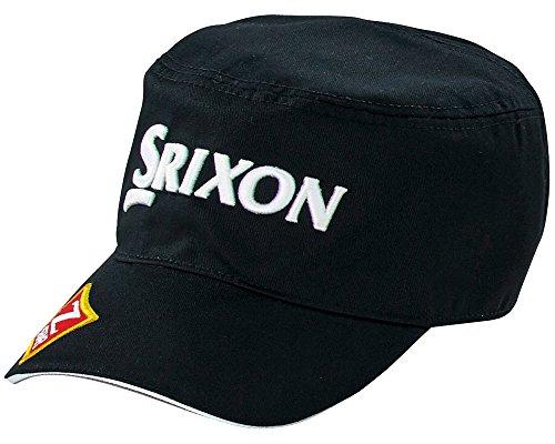 DUNLOP(ダンロップ) SRIXON ワークキャップ ツアープロ着用モデル  SMH6133X ブラック