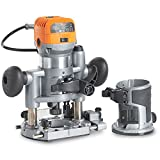 VonHaus Compact Deluxe Palm Router Saw - Plunge Trimmer 710W - Tool...